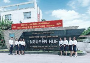 Cong truong Nguyen Sieu